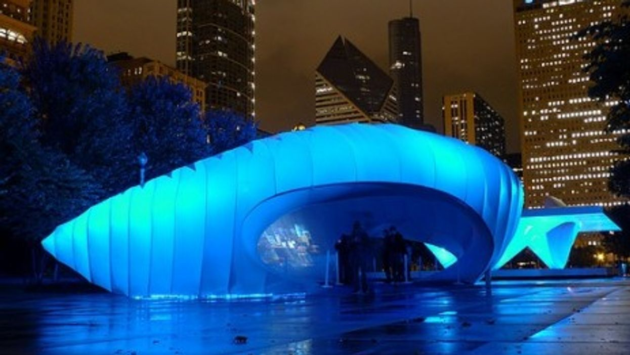 Is Zaha Hadid's Burnham Pavilion in Chicago about to look passé?