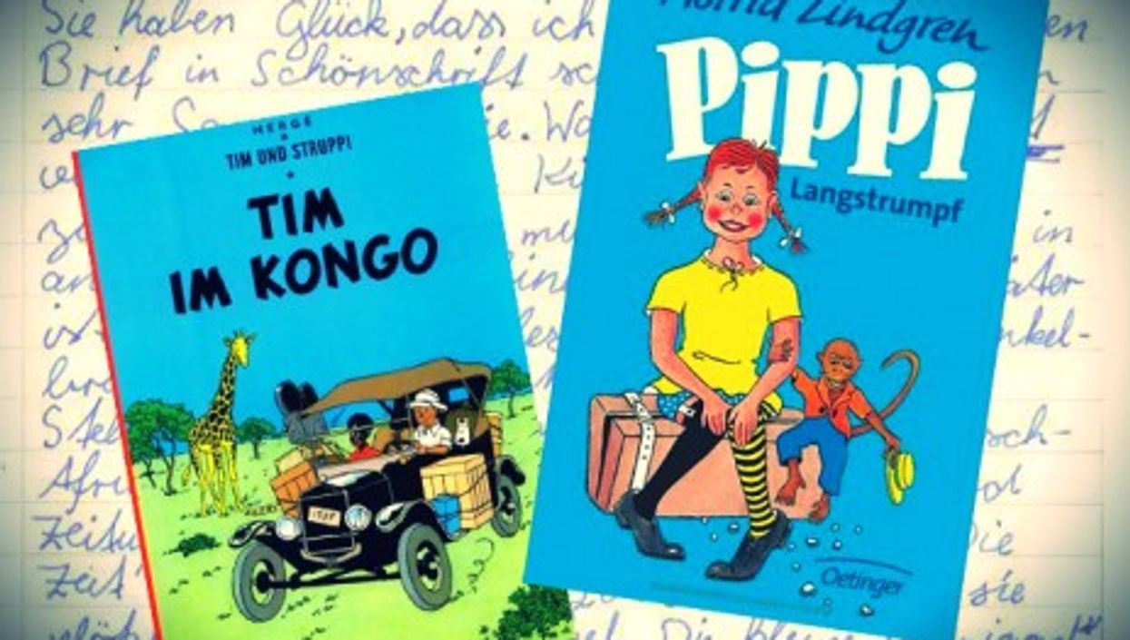 """Ishema Kane's letter and German versions of controversial """"Tintin in the Congo"""" and """"Pippi Longstocking"""""""