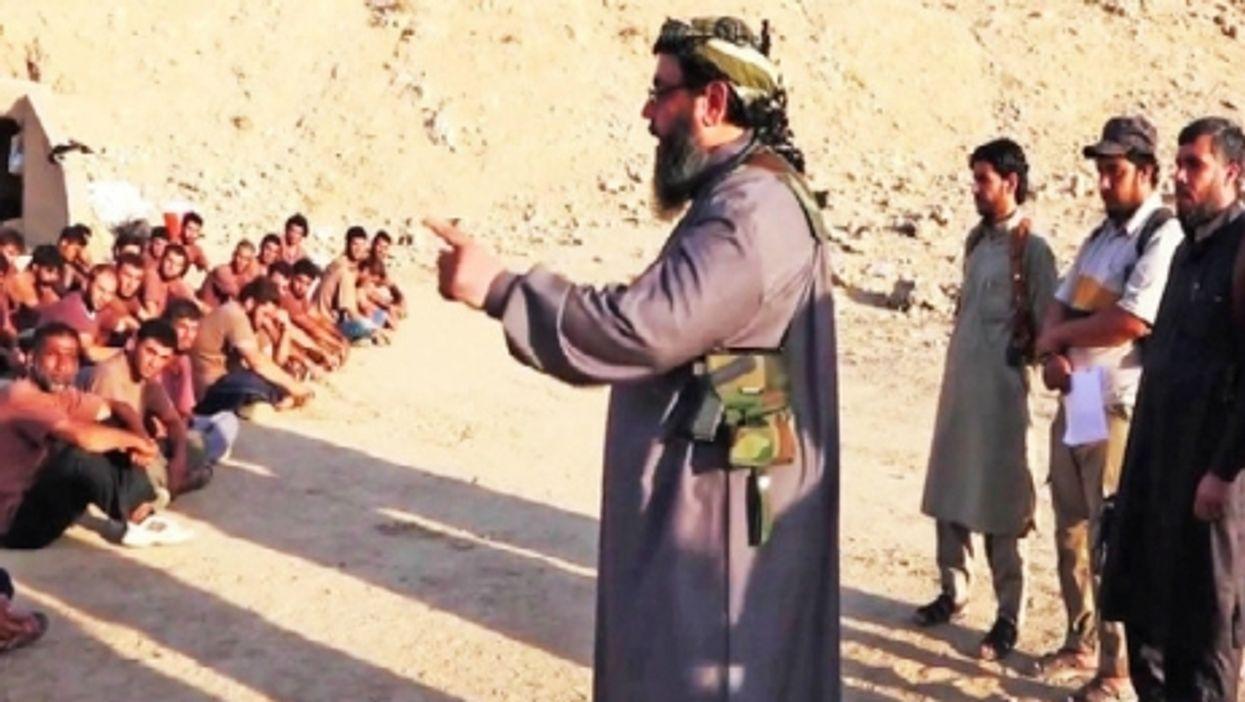 ISIS boot camp graduation