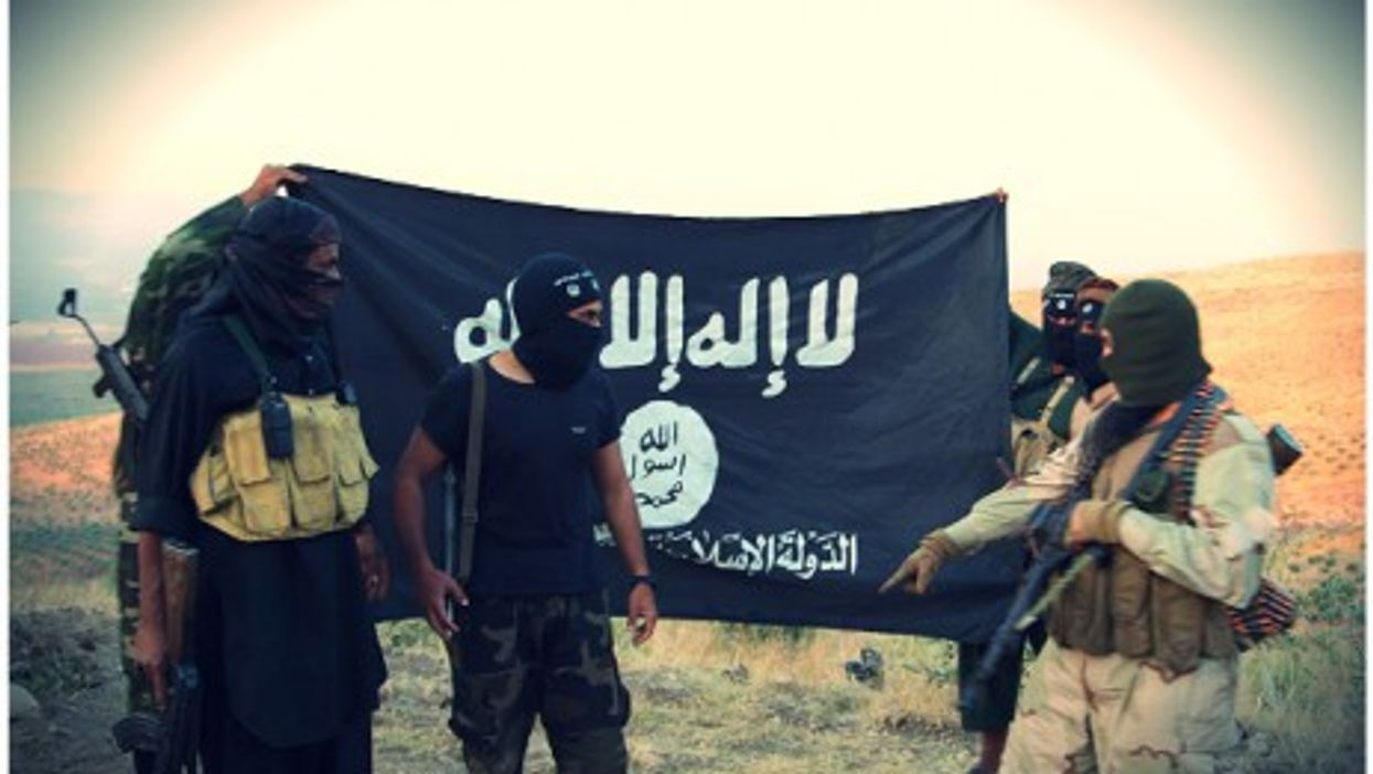 ISIS fighters in Aleppo, Syria