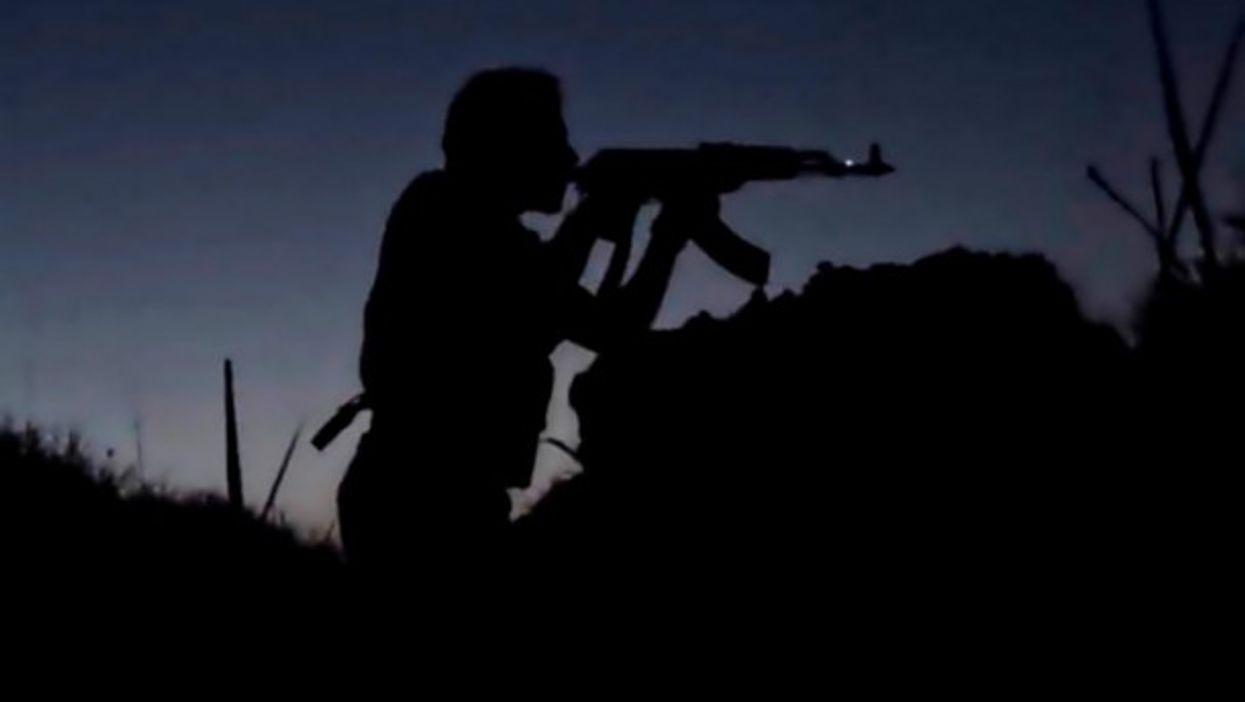 ISIS militant in Syria