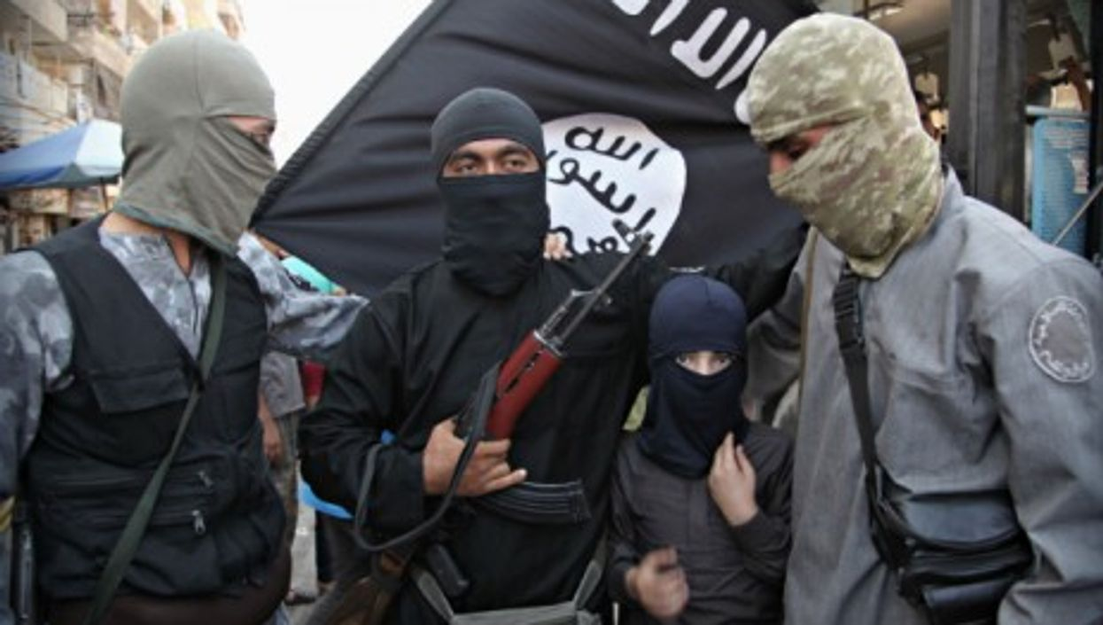 Islamic State of Iraq and the Levant (ISIL) fighters in Syria