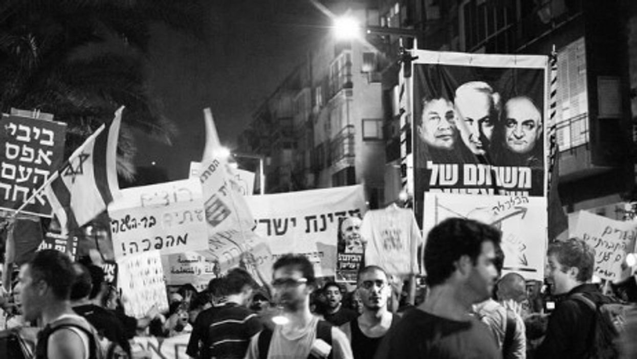 Israeli protestors are complaining among other things of high food and housing prices