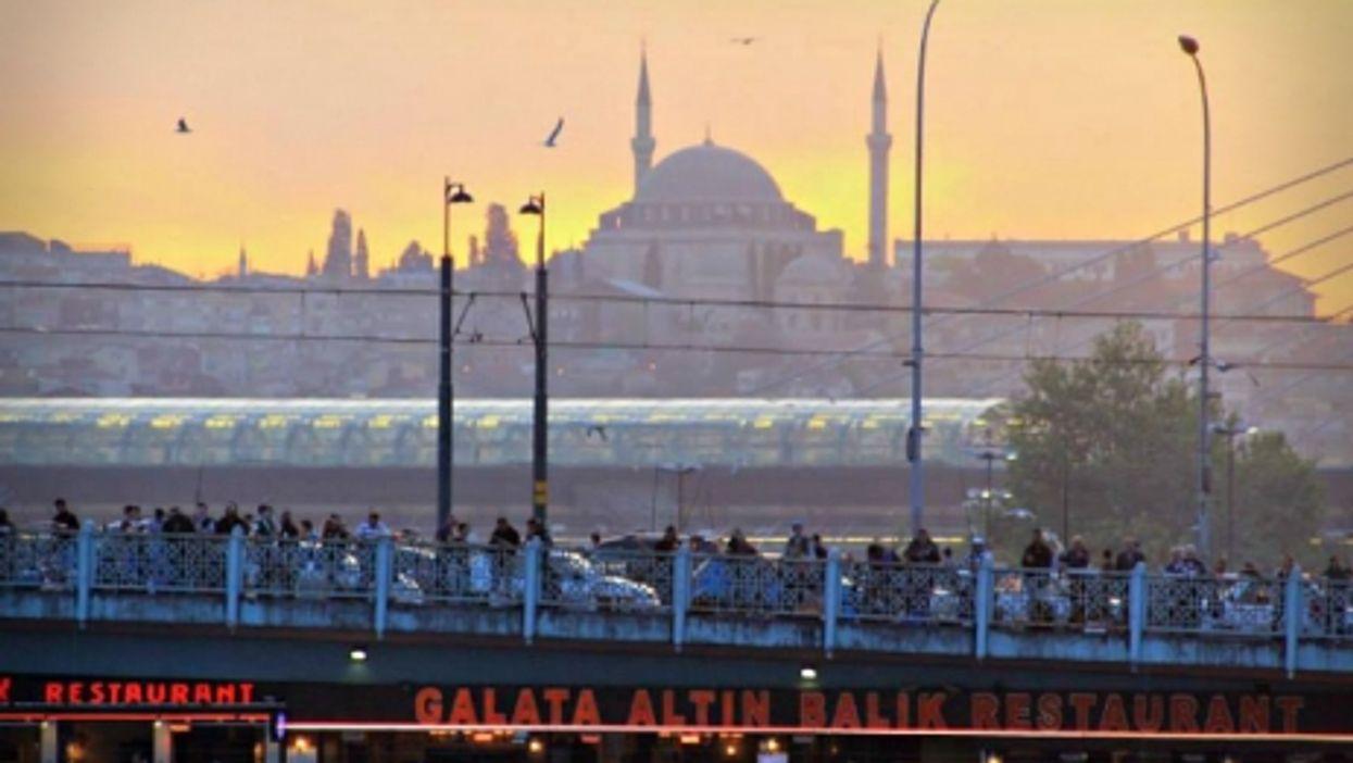 Istanbul's Galata bridge