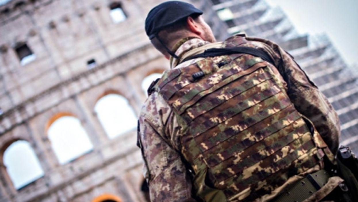 Italian military on high alert in Rome