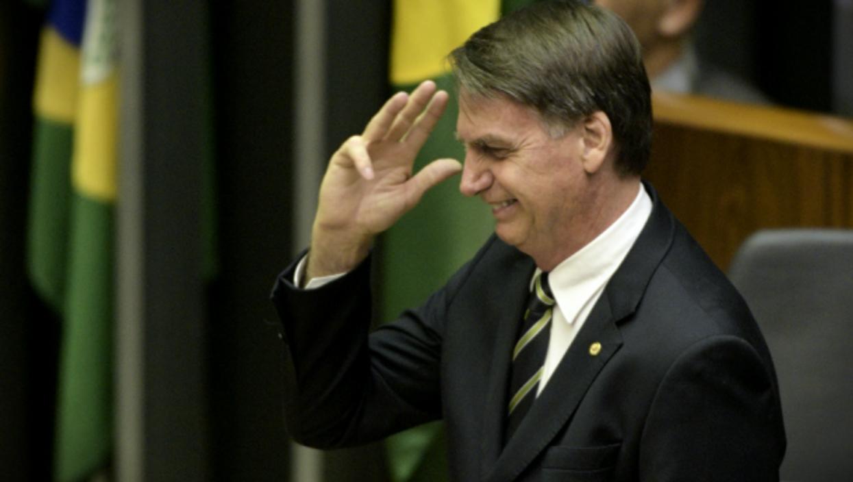 Jair Bolsonaro on Nov. 6