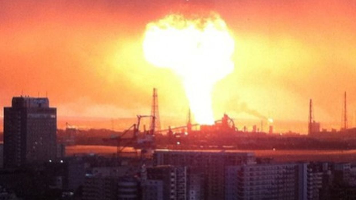 Japan earthquake - Tokyo skyline (Danny Choo)