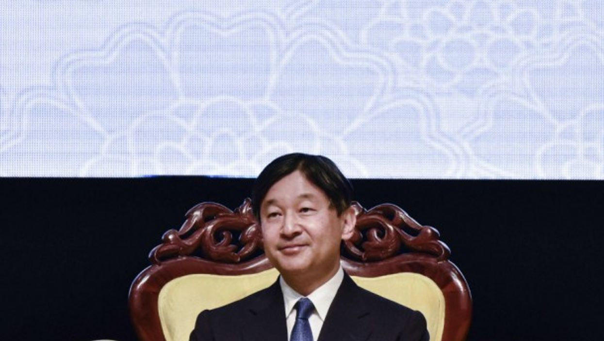 Japan's Crown Prince Naruhito during a visit in Malaysia