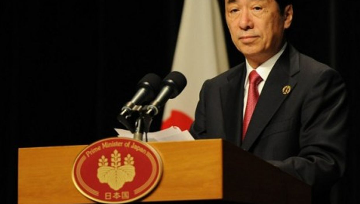 Japanese Prime Minister Naoto Kan was criticized heavily, even by his own party, for his anti-nuclear comments