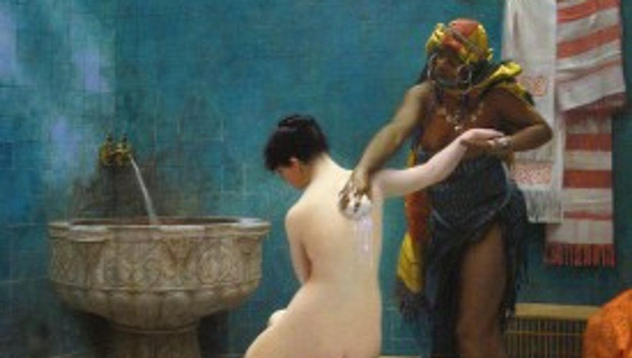 Jean-Léon Gérôme's The Bath.