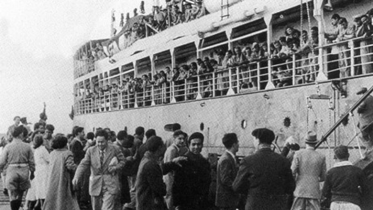 Jewish refugees from Libya