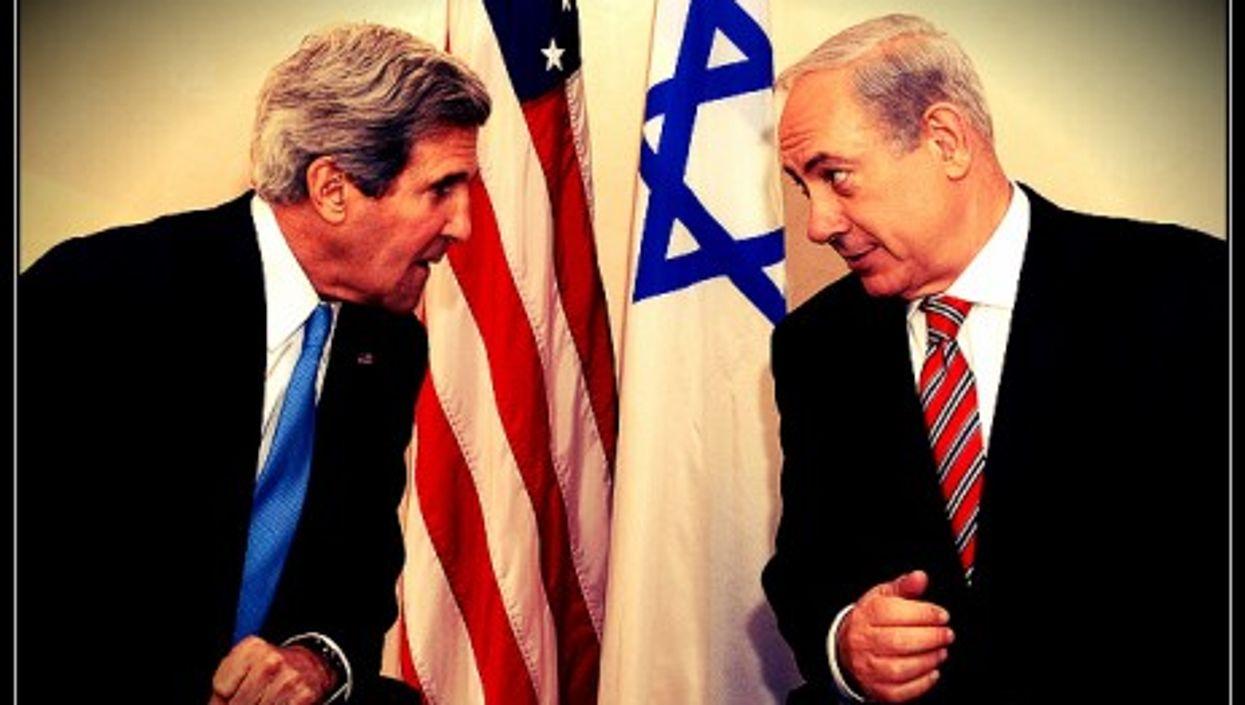 John Kerry meets Benjamin Netanyahu in Jerusalem, April 2013