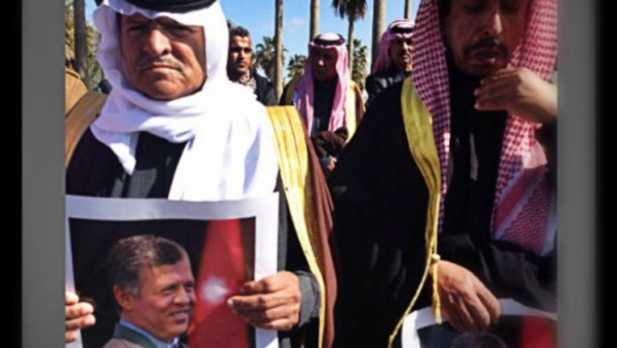 Jordanians this week await the arrival of Abdullah.