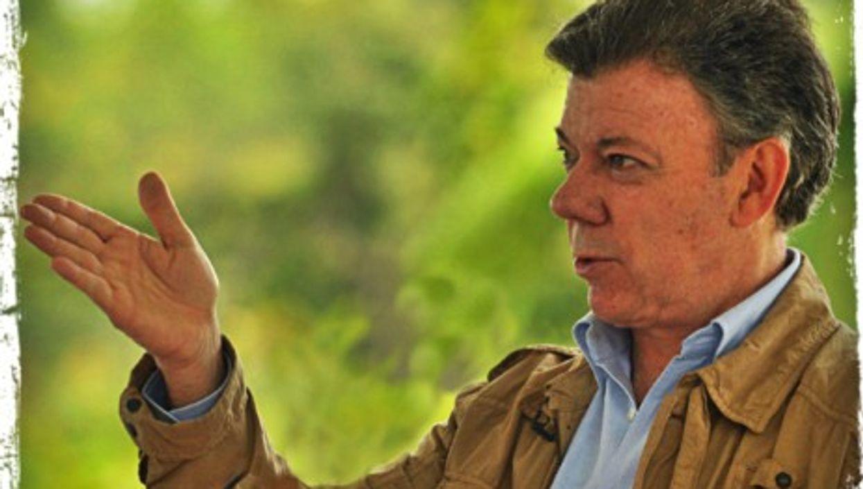 Juan Manuel Santos in 2011