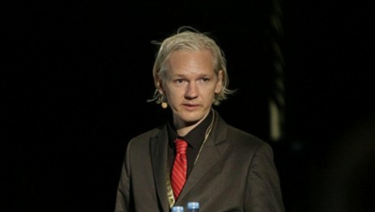 Julian Assange (New Media Days)