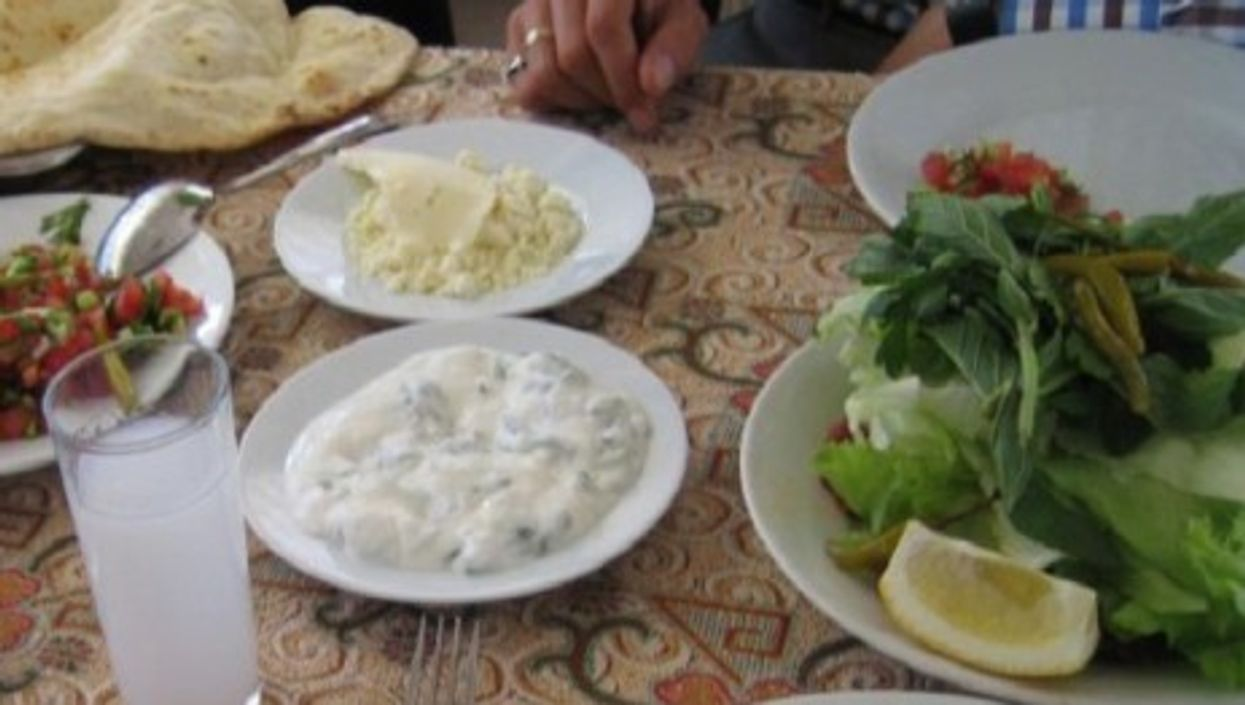 Just a glass of raki with your lunch? (jonez)