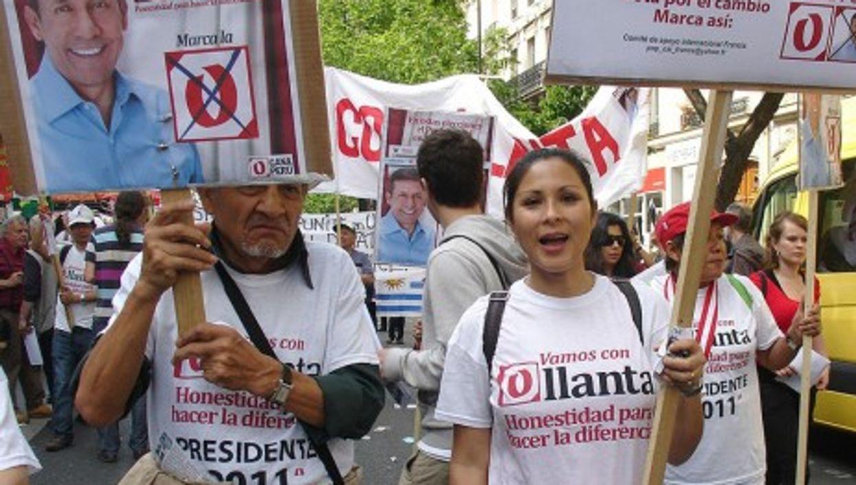 Just over 51% of Peruvian voters chose Ollanta Humala over Keiko Fujimori