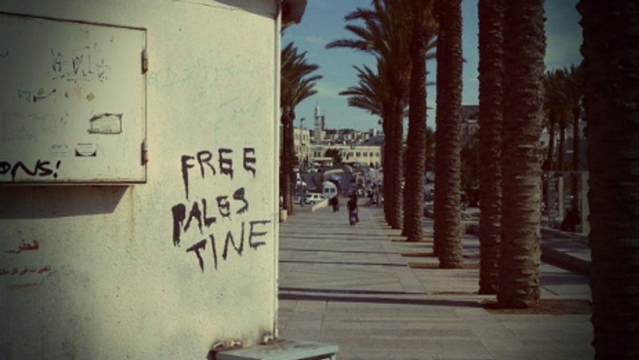 Just over the line in East Jerusalem