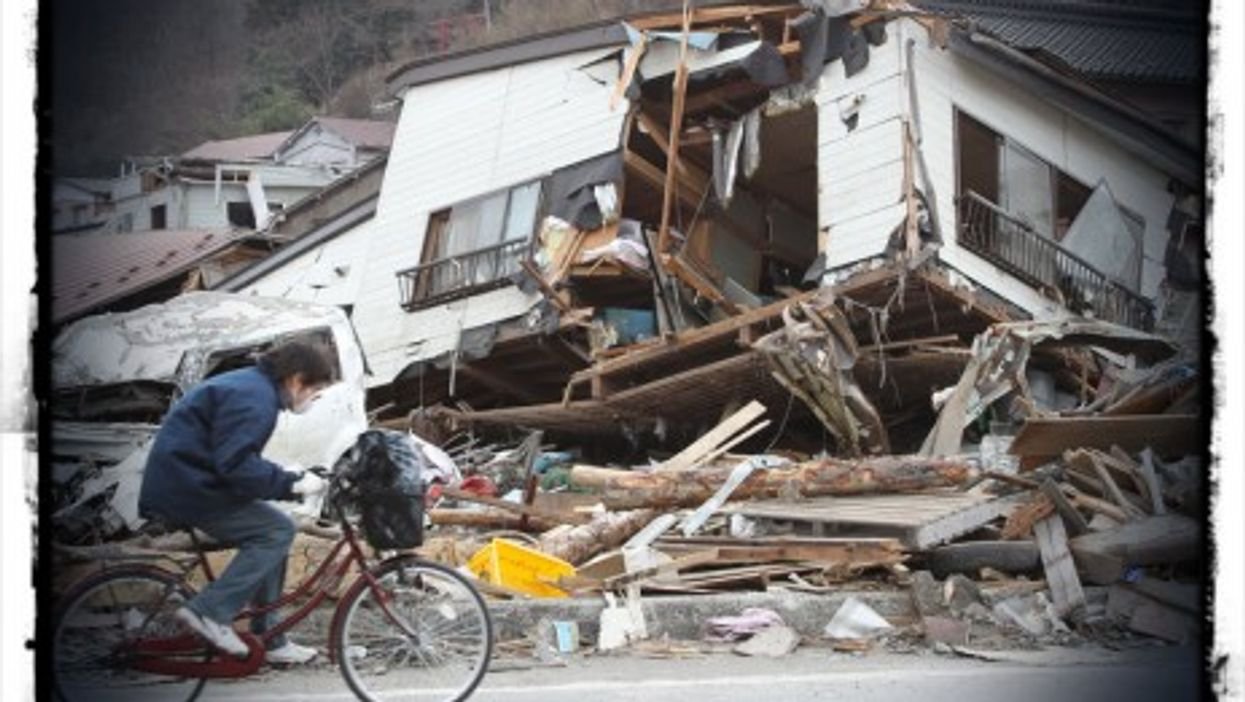 Kamaishi in the aftermath