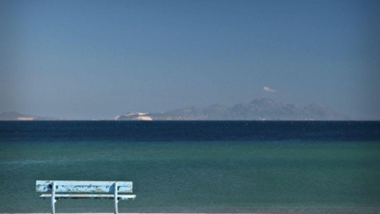 Kamari beach on Greece's Kos island