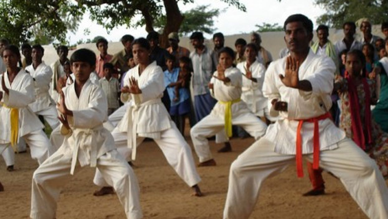 Karate lessons in India
