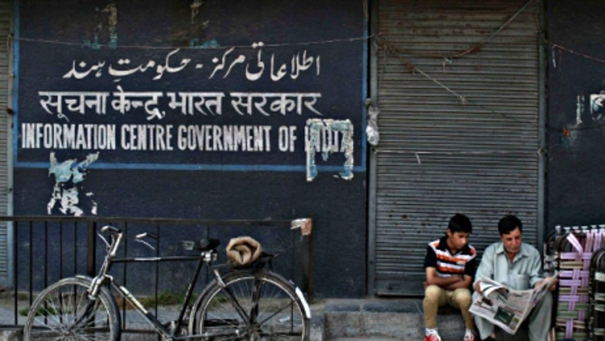 Kashmiri men in Srinagar, the summer capital of Kashmir