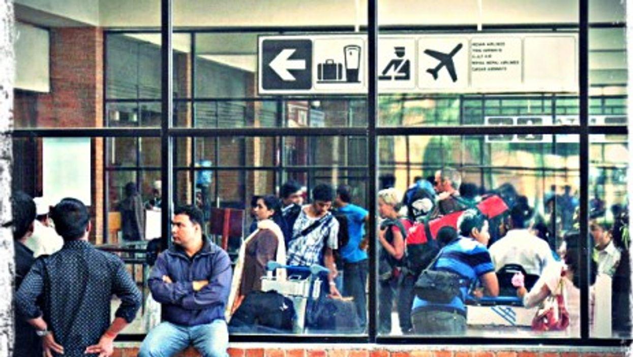 Kathmandu's Tribhuvan International Airport