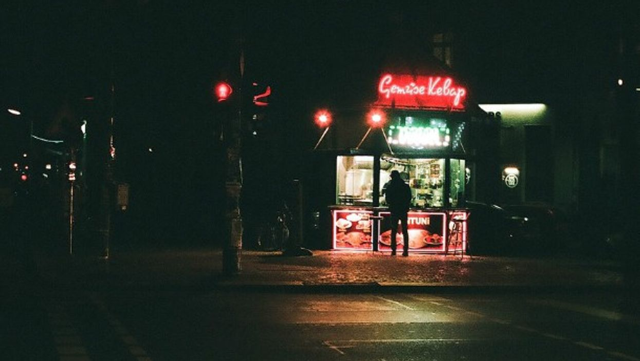 Kebab shop in Berlin's Kreuzberg district