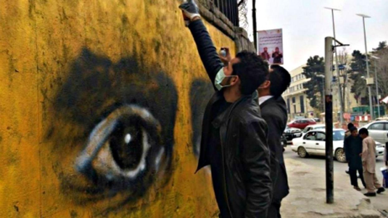 Keeping an eye on the walls of Kabul