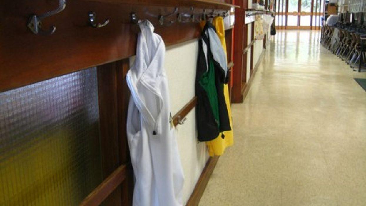 Keeping classrooms and hallways safe (Wootang01)