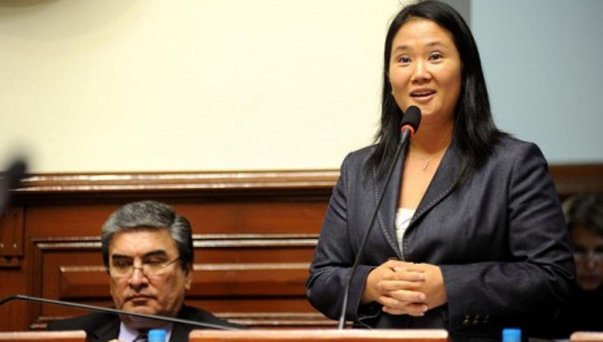 Keiko Fujimori, a leading contender for the Peruvian presidency