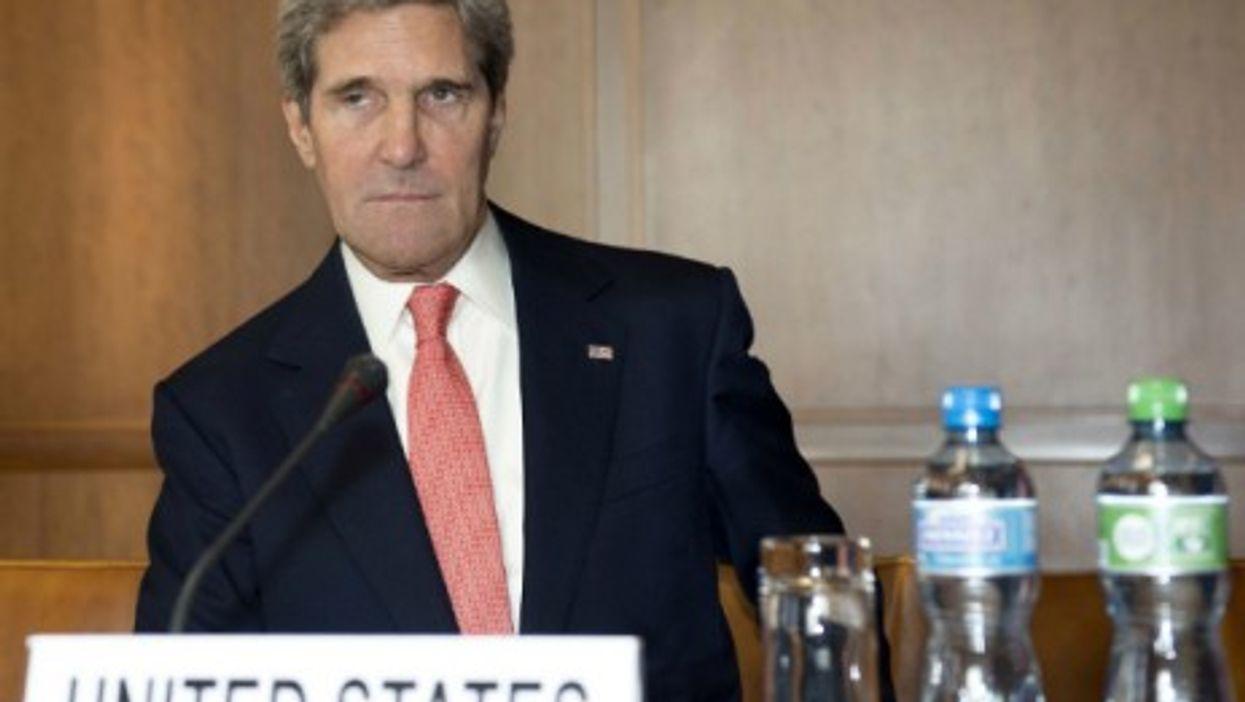 Kerry has been talking tough