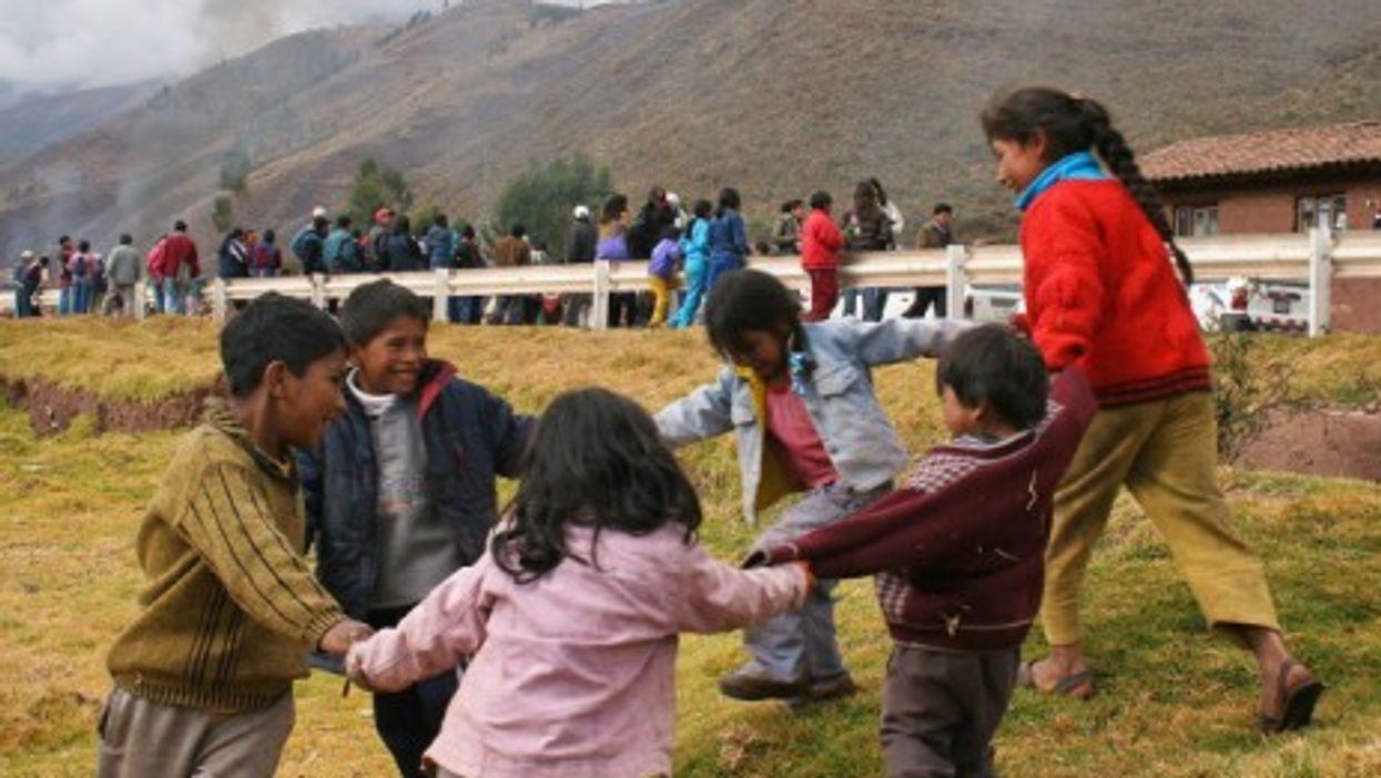 Kids in Cusco, Peru