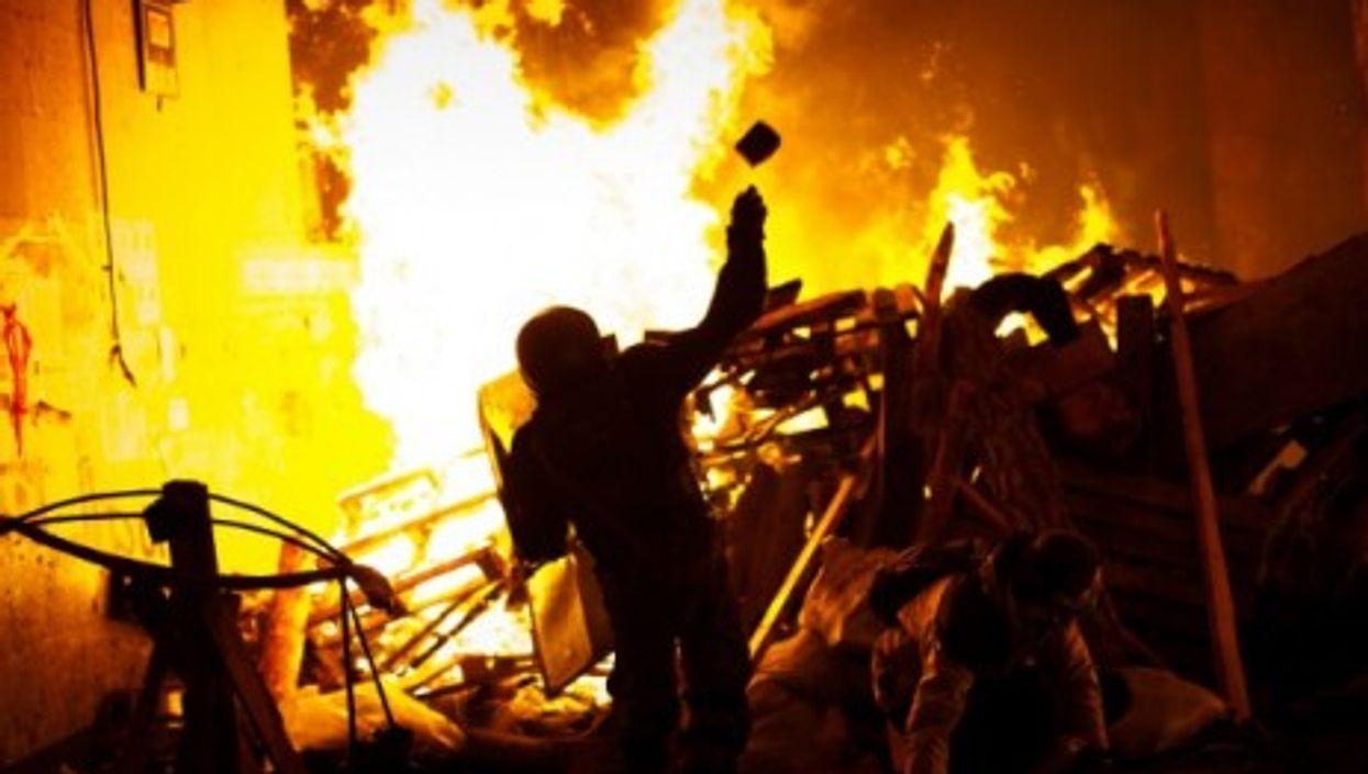 Kiev on Feb. 18
