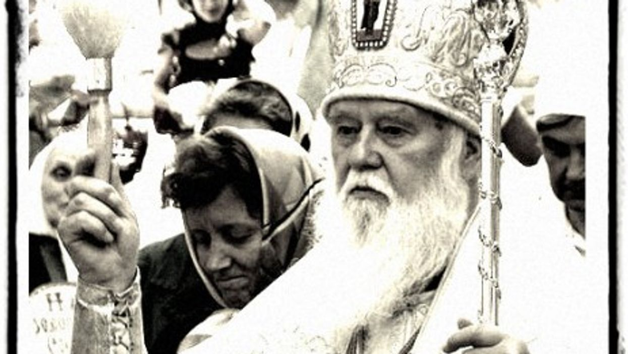 Kiev Patriarch Filaret says Christians shouldn't forget why God destroyed Sodom and Gomorrah