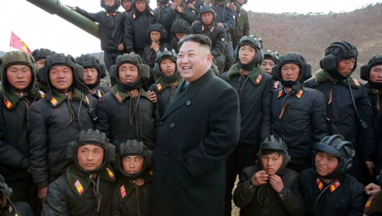 Kim Jong-un in April 2017