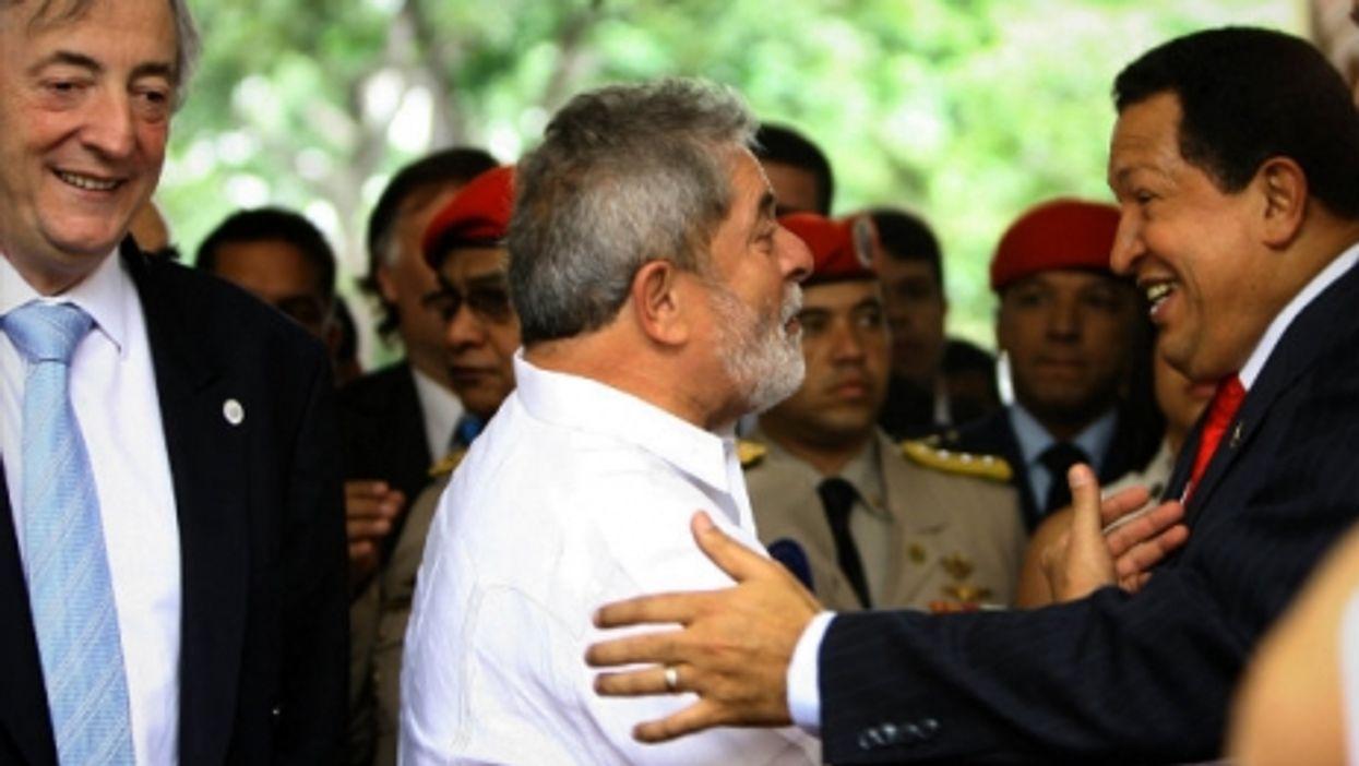 Kirchner, Lula and Chavez back in 2010