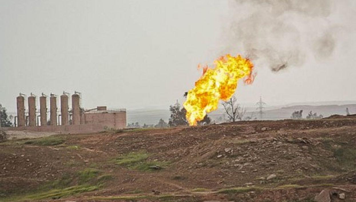 Kirkuk oil fields