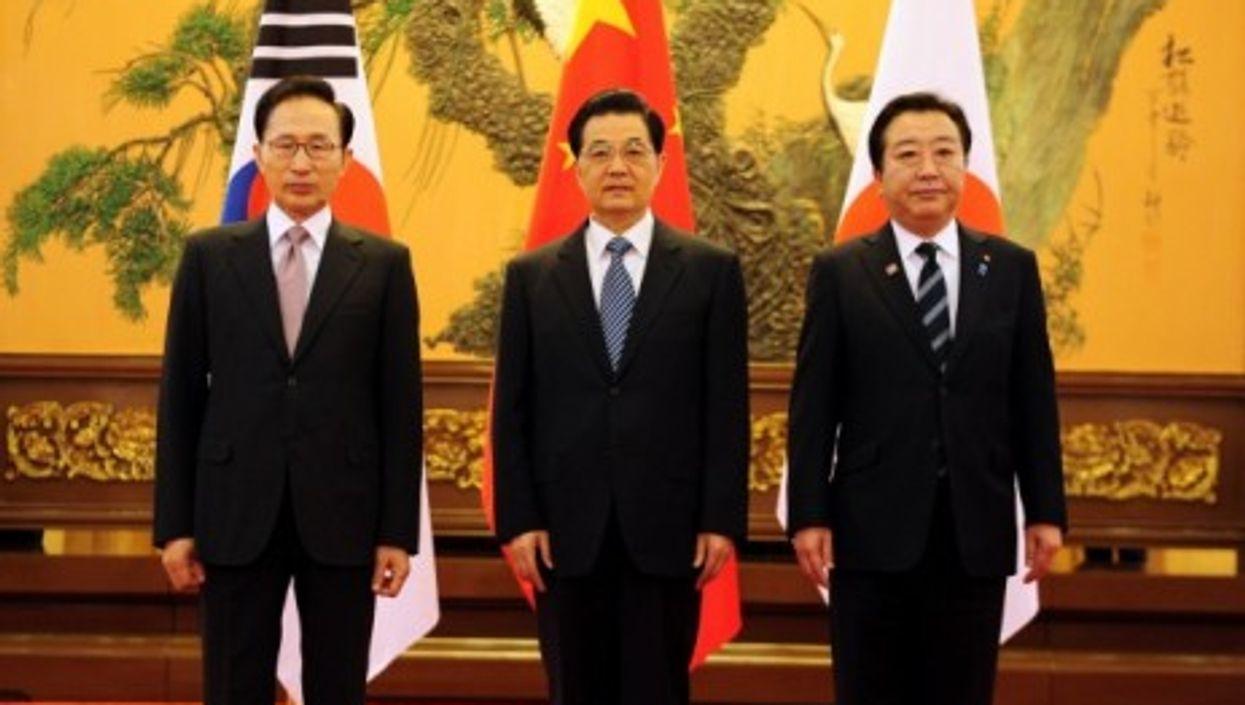 Korea-China-Japan summit (Cheong Wa Dae)