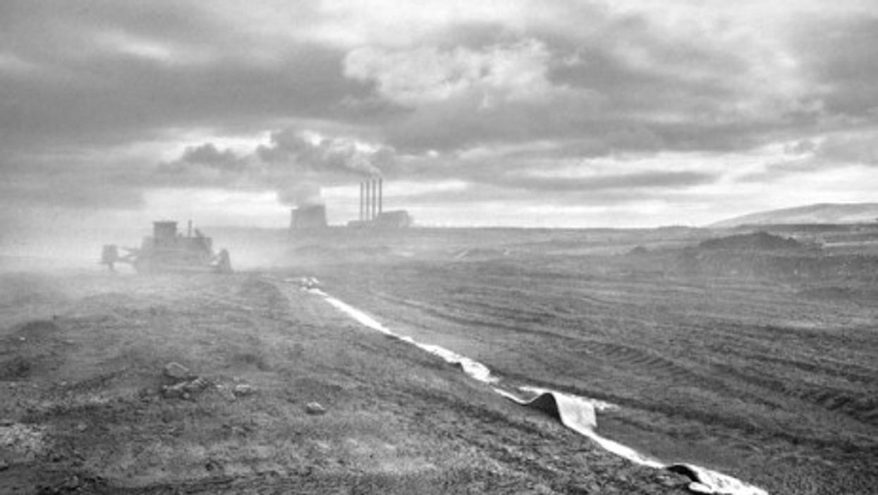 Kozani's coal mine in northern Greece