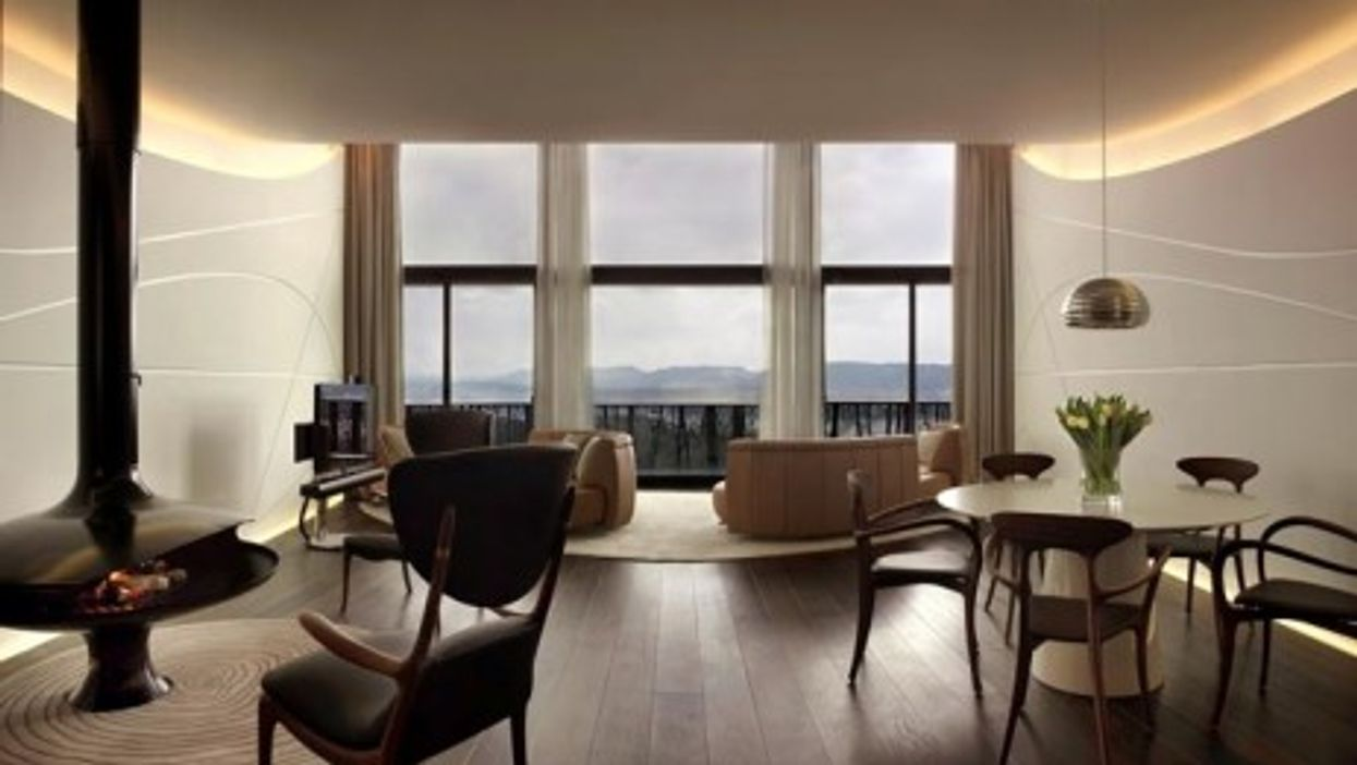 Küsnacht Practice clients can choose to stay at the five-star Dolder Hotel (above)