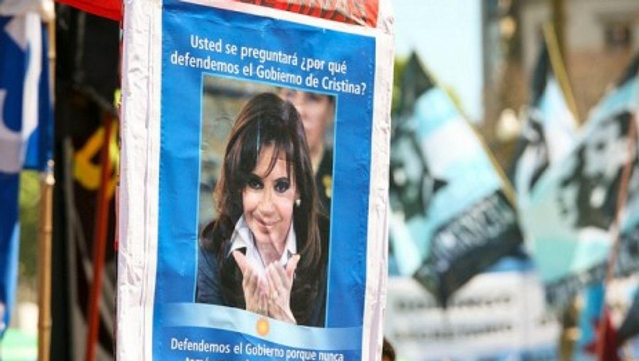 La presidenta! Argentine leader Cristina Kirchner de Fernandez (Alex E. Proimos)