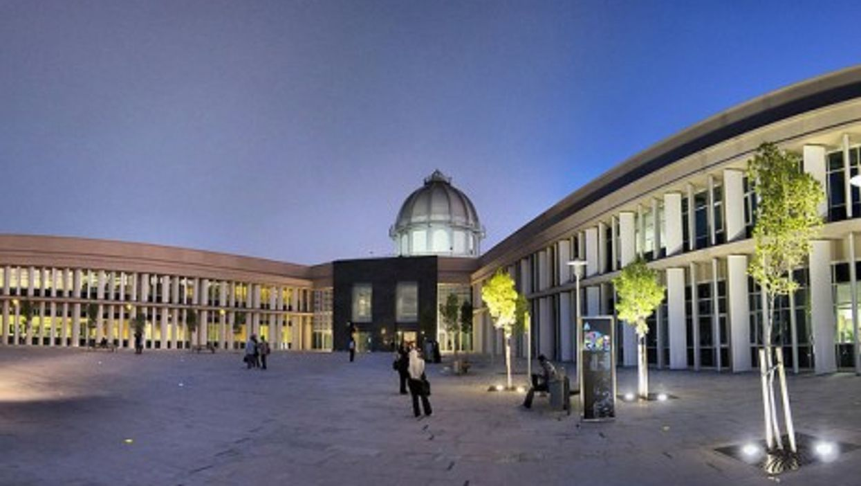La Sorbonne's campus in Abu Dhabi in the United Arab Emirates