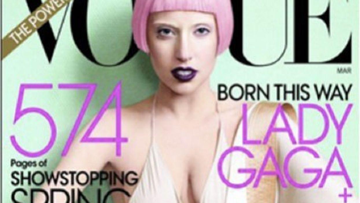 Lady Gaga wears Ackermann