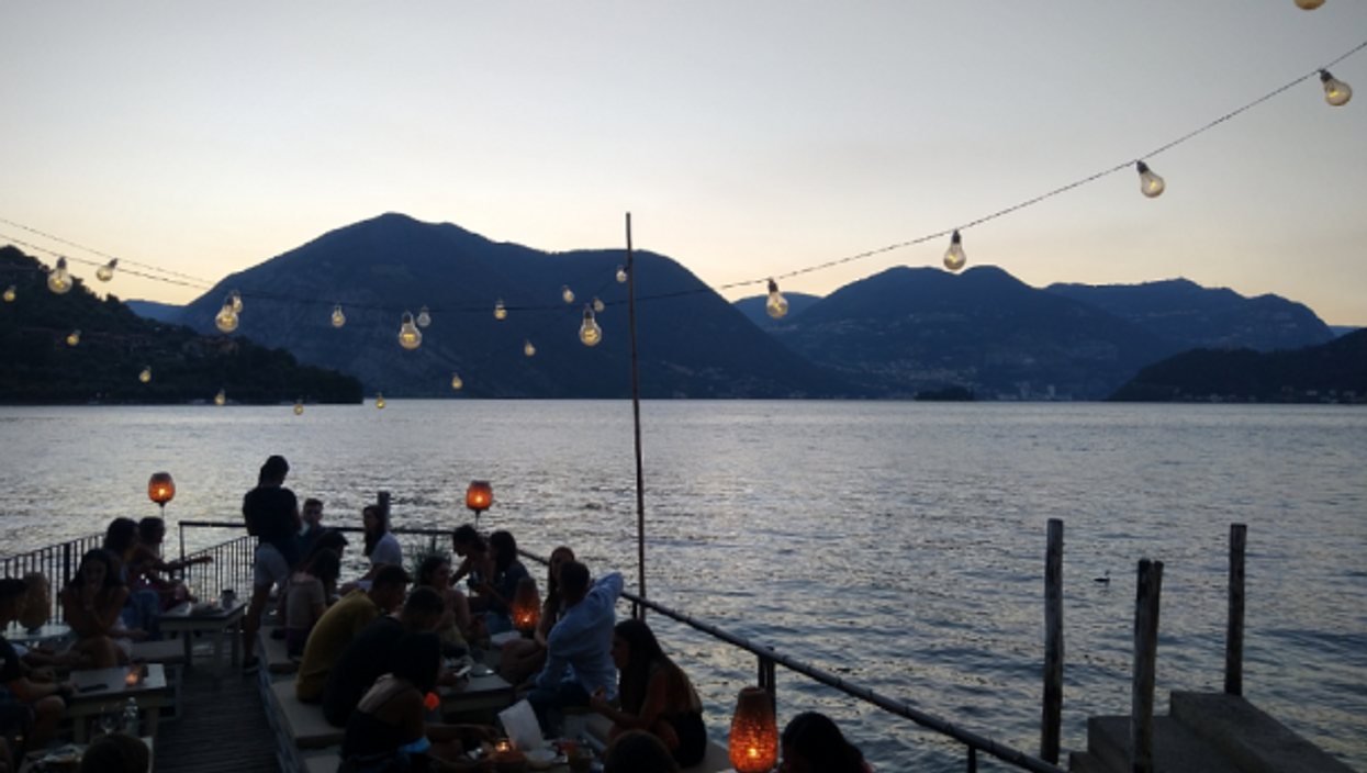Lago d'Iseo, Lombardy