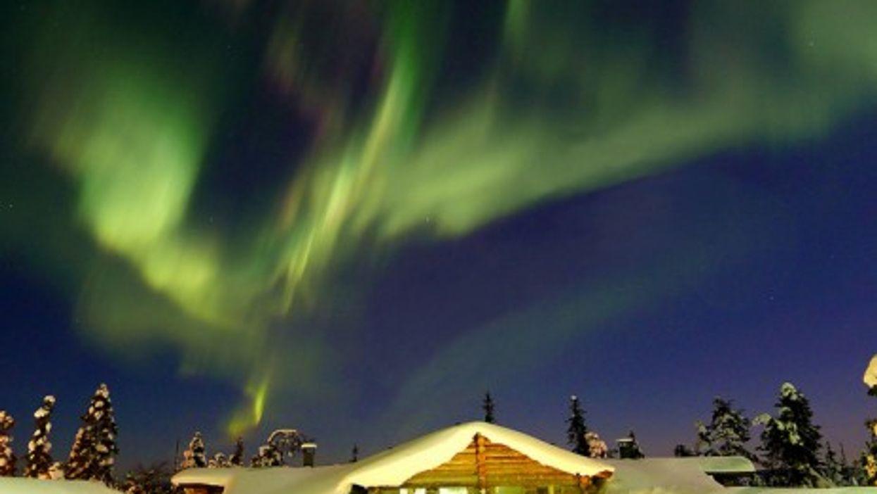 Lapland's northern lights