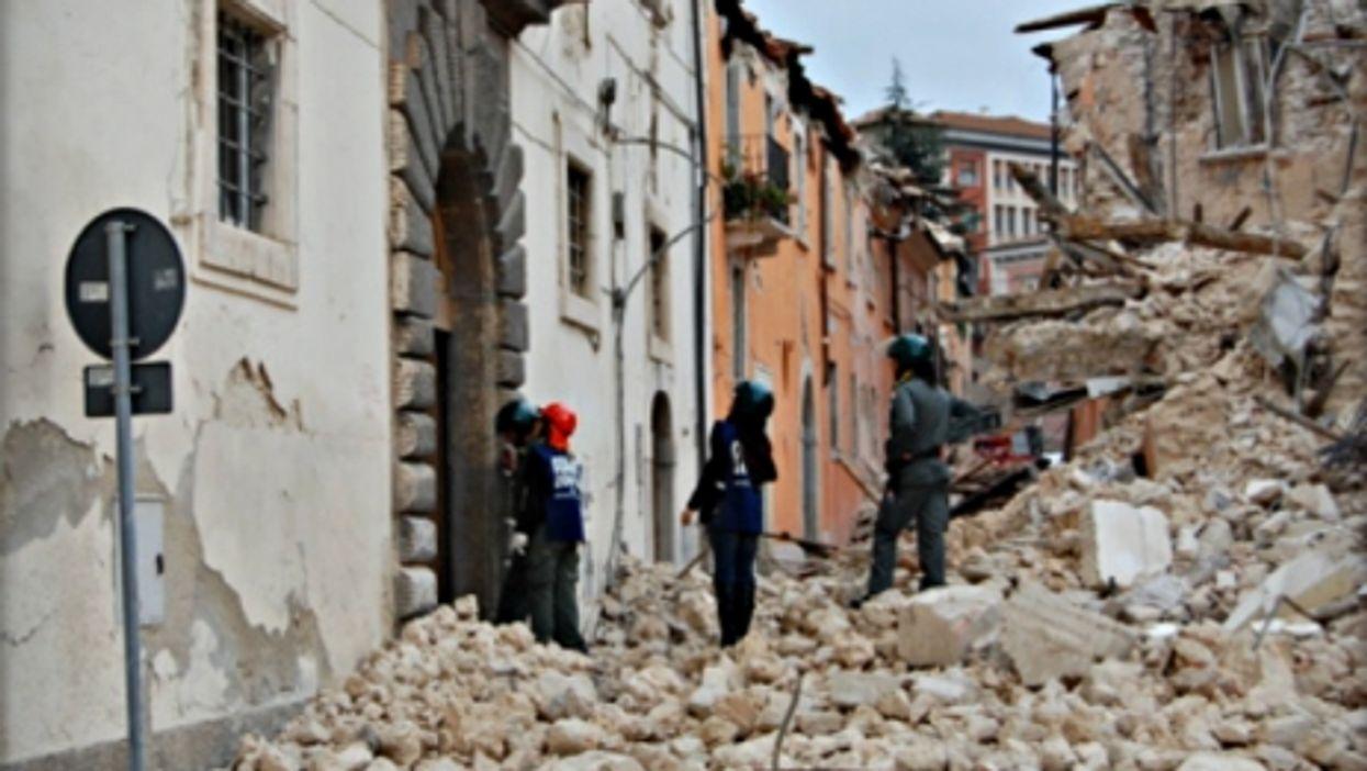 L'Aquila after the 2009 earthquake