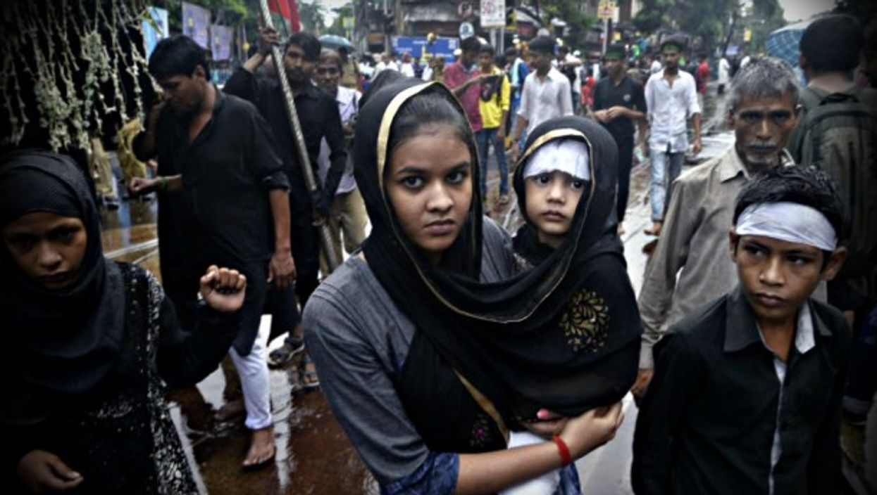 Last October in Kolkata, during Muharram celebrations.