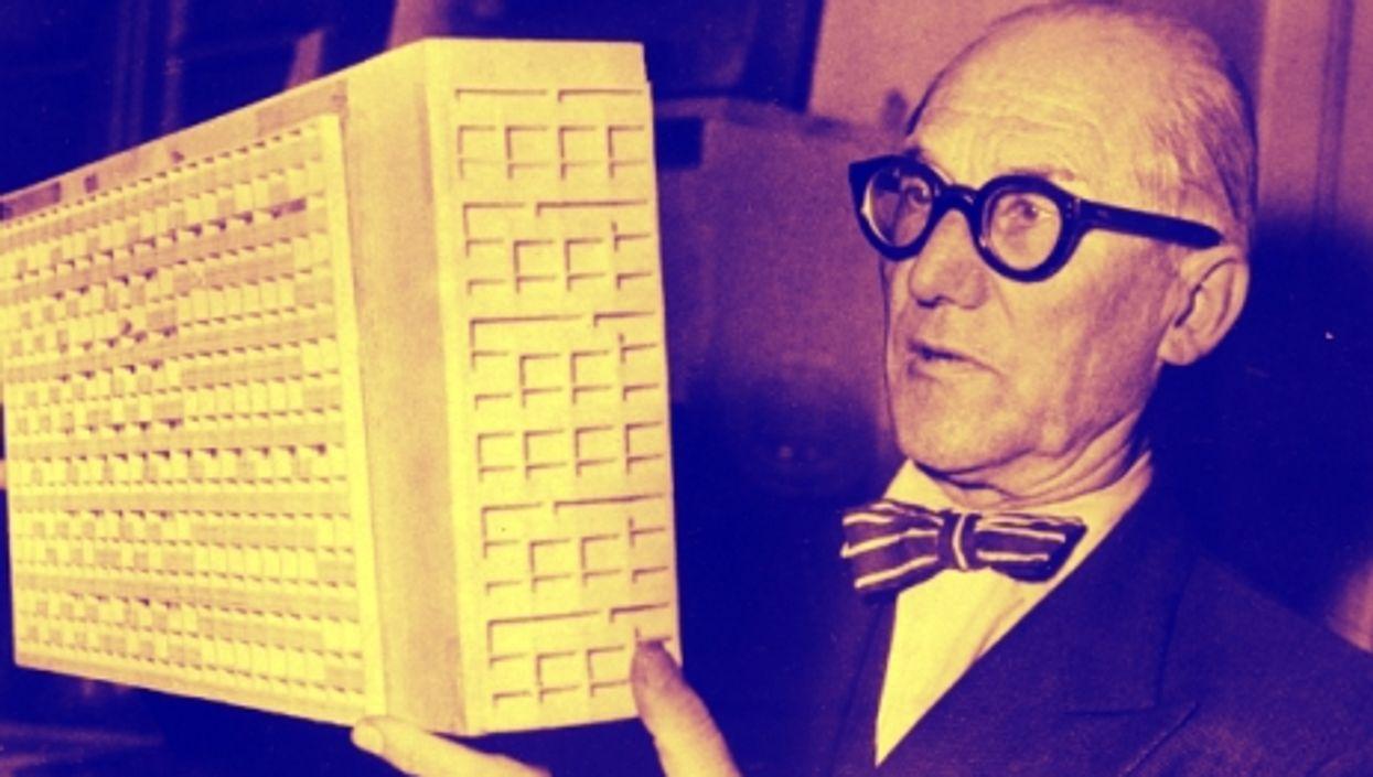 Le Corbusier, in 1962.