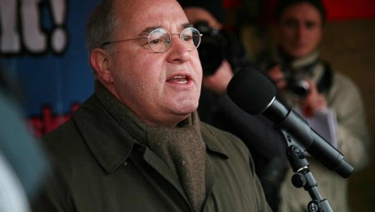 Left Party leader Gregor Gysi